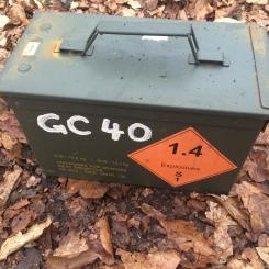 The Geocaching Junkie: GC40 Belgium