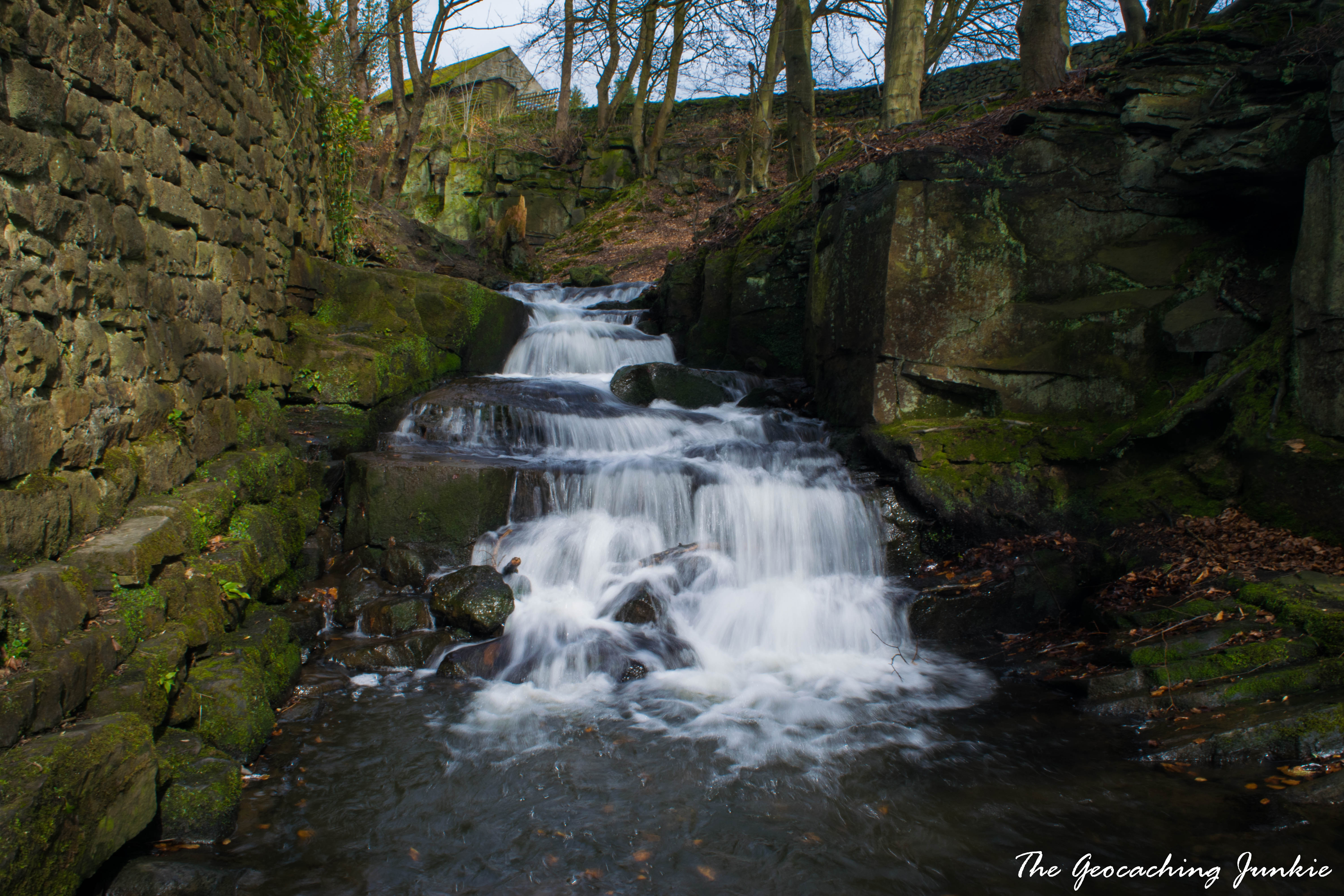 The Geocaching Junkie: Lumsdale Valley, Derbyshire
