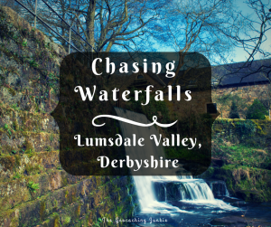 The Geocaching Junkie: Chasing Waterfalls in Lumsdale Valley, Derbyshire