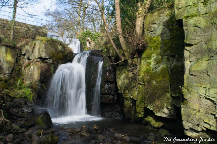 Lumsdale waterfall-5