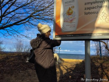 Sopot mother geocache search
