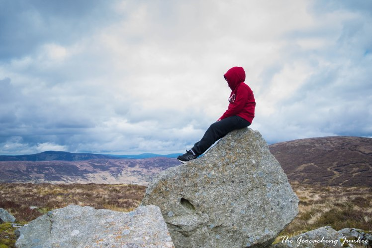 The Geoaching Junkie: April Hike - Turlough Hill, County Wicklow