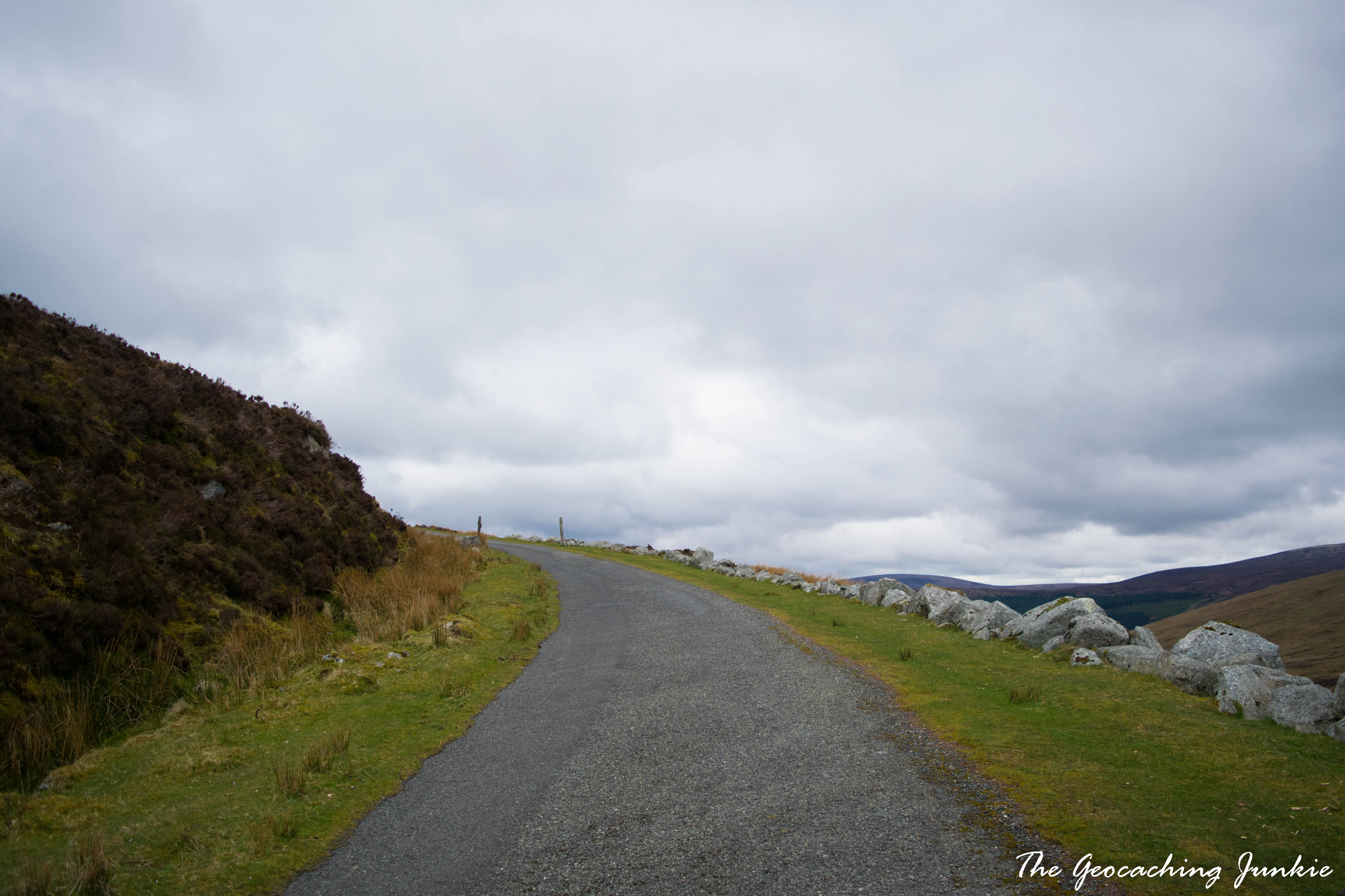 The Geocaching Junkie: April Hike - Turlough Hill, County Wicklow