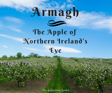 The Geocaching Junkie: Armagh - the apple of Northern Ireland's Eye
