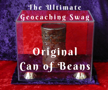 The Ultimate Geocaching Swag: Original Can of Beans | The Geocaching Junkie