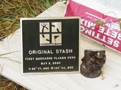 The Geocaching Junkie: The Original Geocaching Swag: OCB