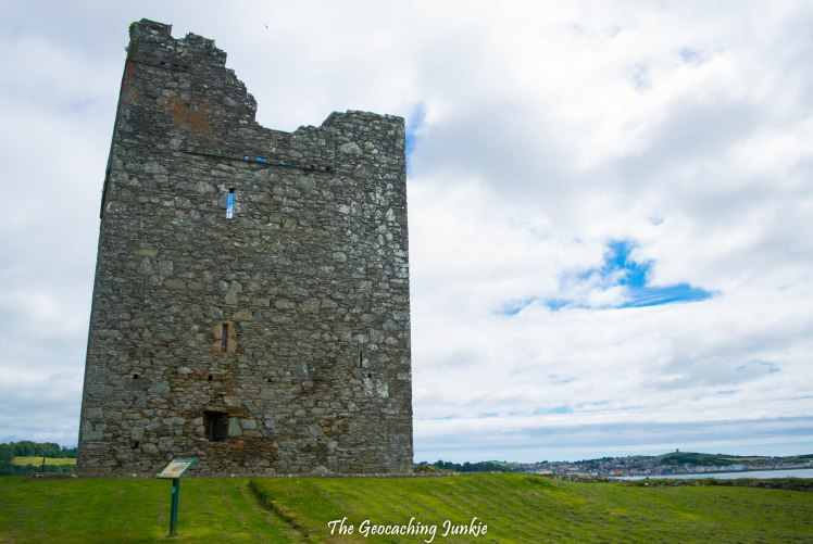 Audley's Field and Castle, Castle Ward | The Geocaching Junkie