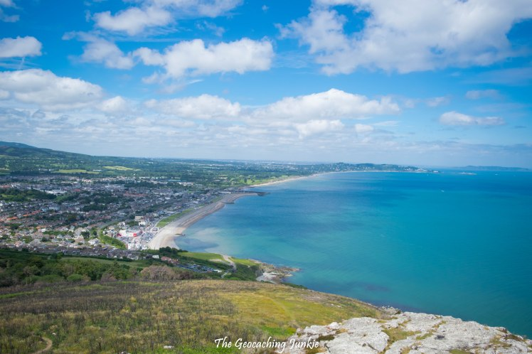 View of Bray from Bray Head_