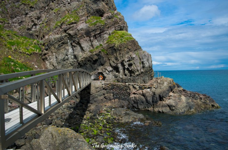 The Gobbins - bridge