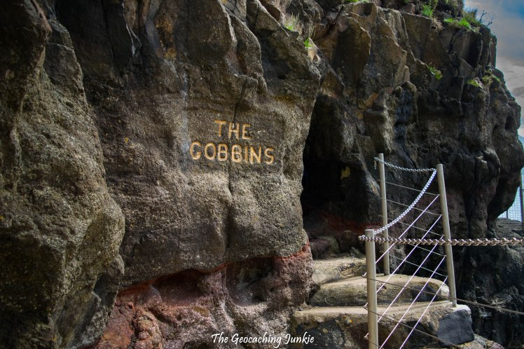 The Gobbins - sign